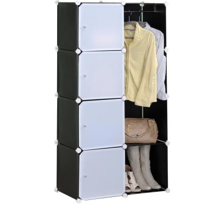 限時特賣-空間美學-單桿收納衣櫥櫃-五款可選