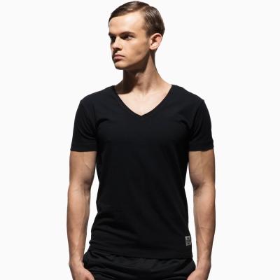《PRIVATE STRUCTURE》極簡素色V領內衣(黑色)
