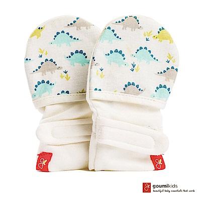美國 GOUMIKIDS 有機棉嬰兒手套 (小恐龍)