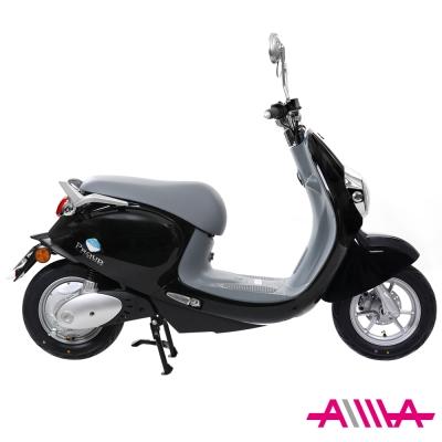 【AIMA愛瑪】 麥 48V鉛酸 LED光圈 高性能減震 搭配智能防盜 電動自行車 黑