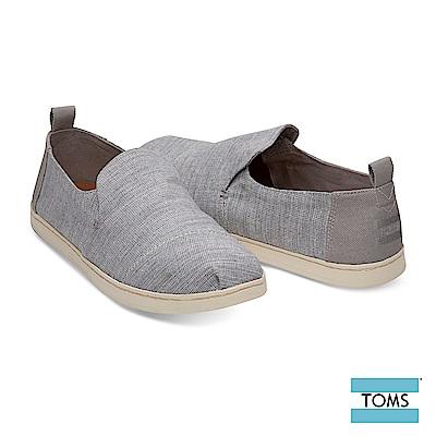 TOMS 拼接解構式帆布休閒鞋-男款