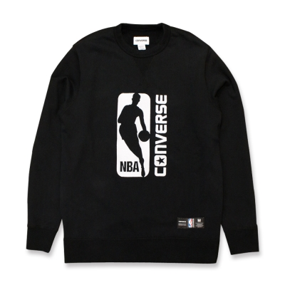 CONVERSE X NBA男長袖上衣10006672A01-黑