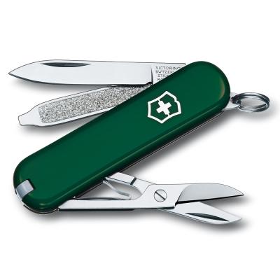 VICTORINOX 瑞士維氏7用瑞士刀-綠