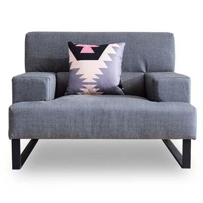 時尚屋-歐風柏得單人座獨立筒沙發