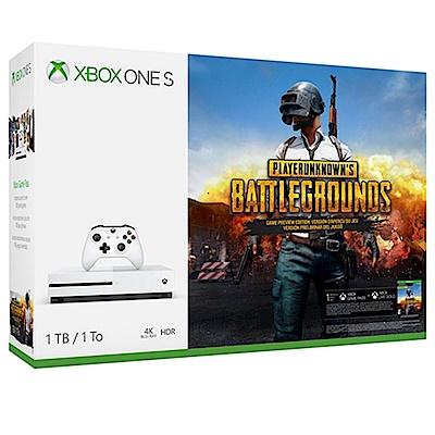 Xbox One S 1TB絕地求生同捆組