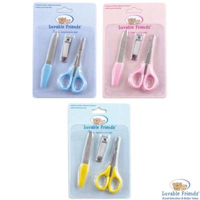 Luvable Friends 嬰兒安全指甲剪修容組