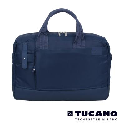 TUCANO-AGIO-13吋雅痞自在商務側背包-藍