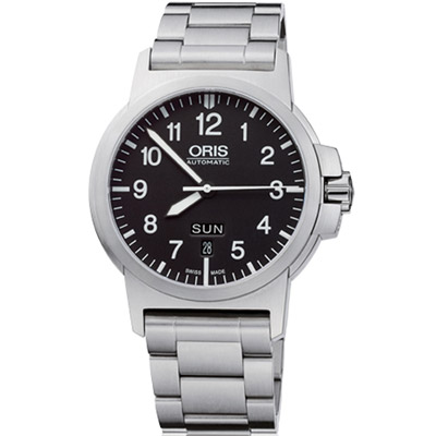 Oris BC3 Advanced日曆星期錶-黑/42mm