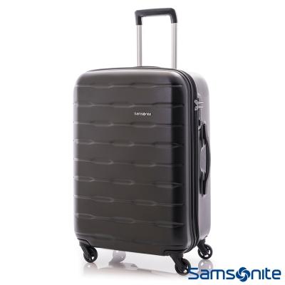 Samsonite新秀麗-24吋Spin-Trunk-PC硬殼行李箱-霧面黑