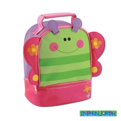 美國 Stephen Joseph 兒童動物造型便當袋 - 蝴蝶