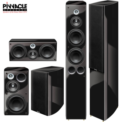 Pinnacle Black Diamond Series II 5聲道 黑鑽石家庭劇院組