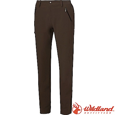Wildland 荒野 0A61385-63深卡其 女彈性Cordura抗UV長褲