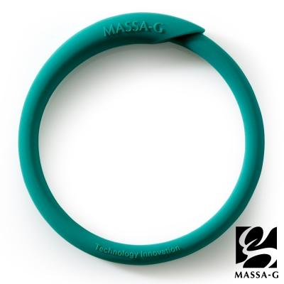 MASSA-G 炫彩動感負離子能量手環-綠