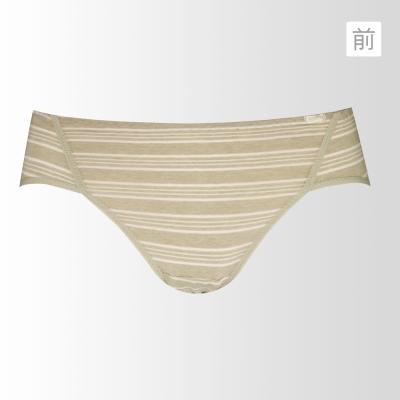 黛安芬-eco chic裸紗原棉高腰M-EL生理內褲(裸紗棉)