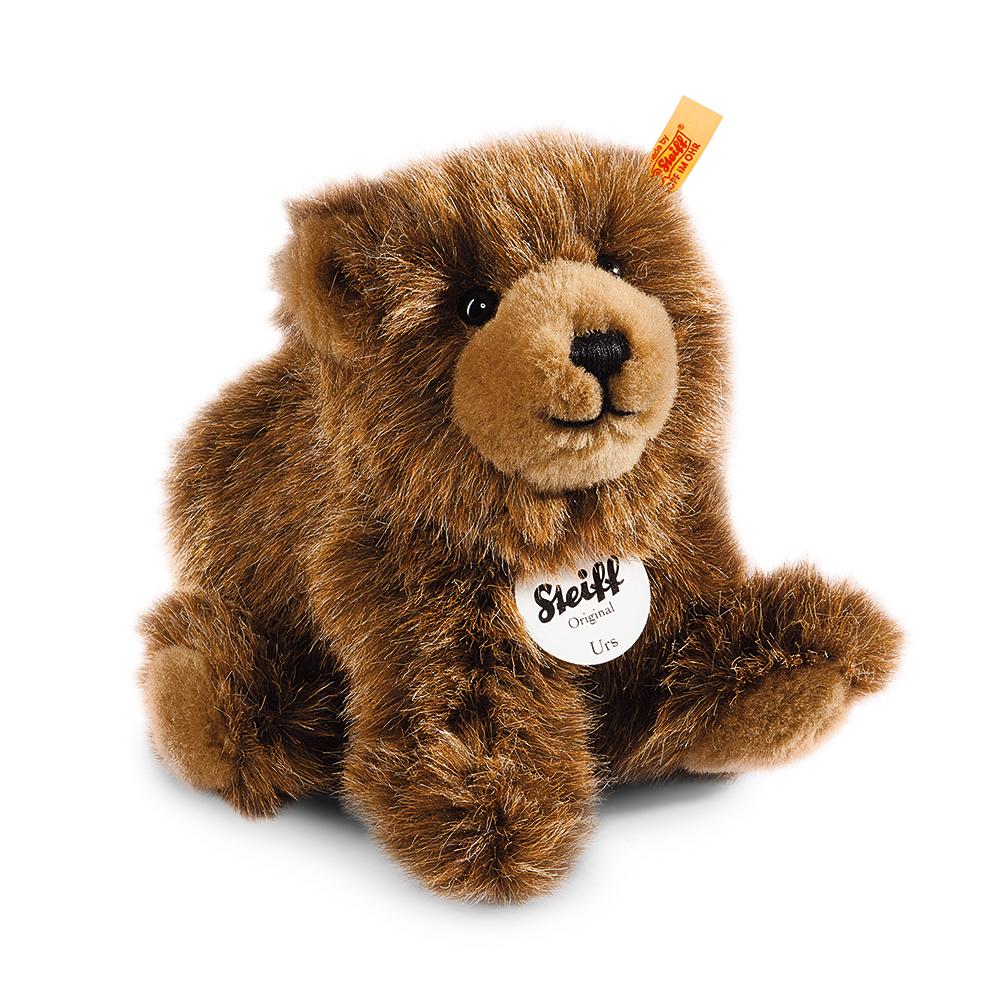 STEIFF德國金耳釦泰迪熊 - Urs Brown Bear 棕熊 (動物王國)