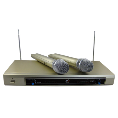 UR SOUND 雙頻道VHF無線麥克風組(UR-NV26)