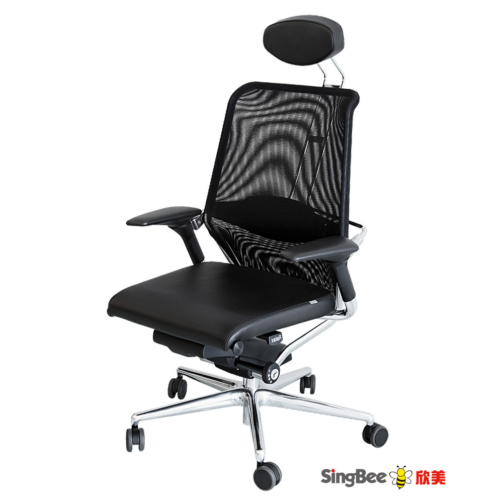 Mitos 德國頂級工藝 人體工學椅-黑色