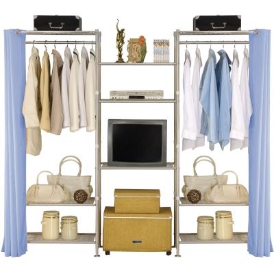 巴塞隆納-W 3 型 60 + 60 + 60 置物衣櫥架