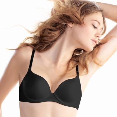 黛安芬-身體底妝魔術版-裸色系列 D罩杯內衣(黑)