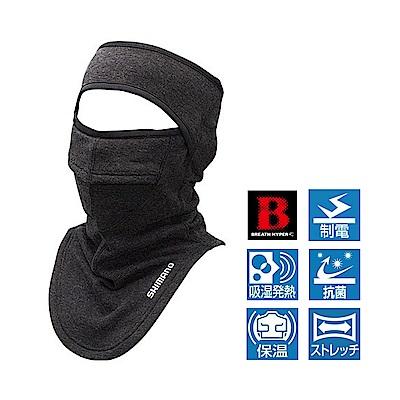 SHIMANO BREATH HYPER+℃ 保暖半罩式面罩 AC-022Q