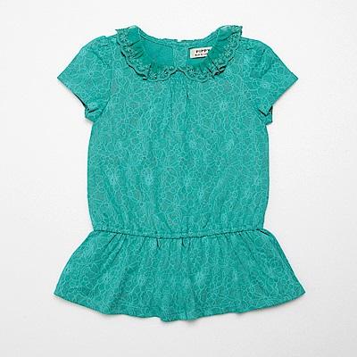 PIPPY 特殊燒花長版上衣 綠