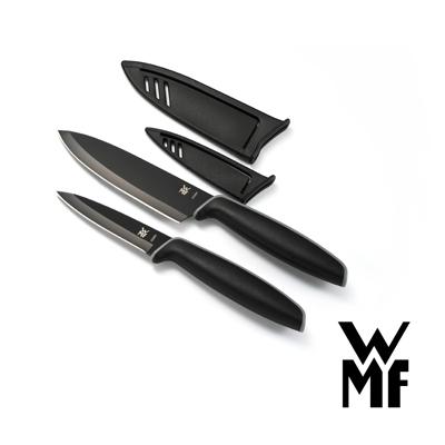 WMF Touch不鏽鋼雙刀組附刀套 9cm/13cm(一大一小2入組)