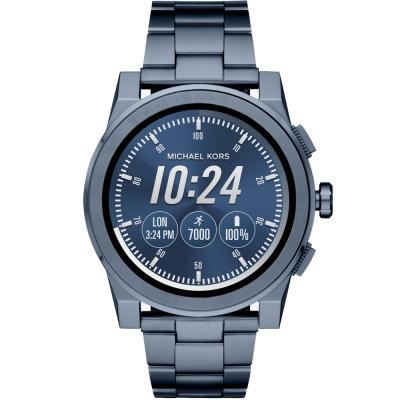 MICHAEL KORS Smartwatch智慧型觸控連線手錶-藍47mm