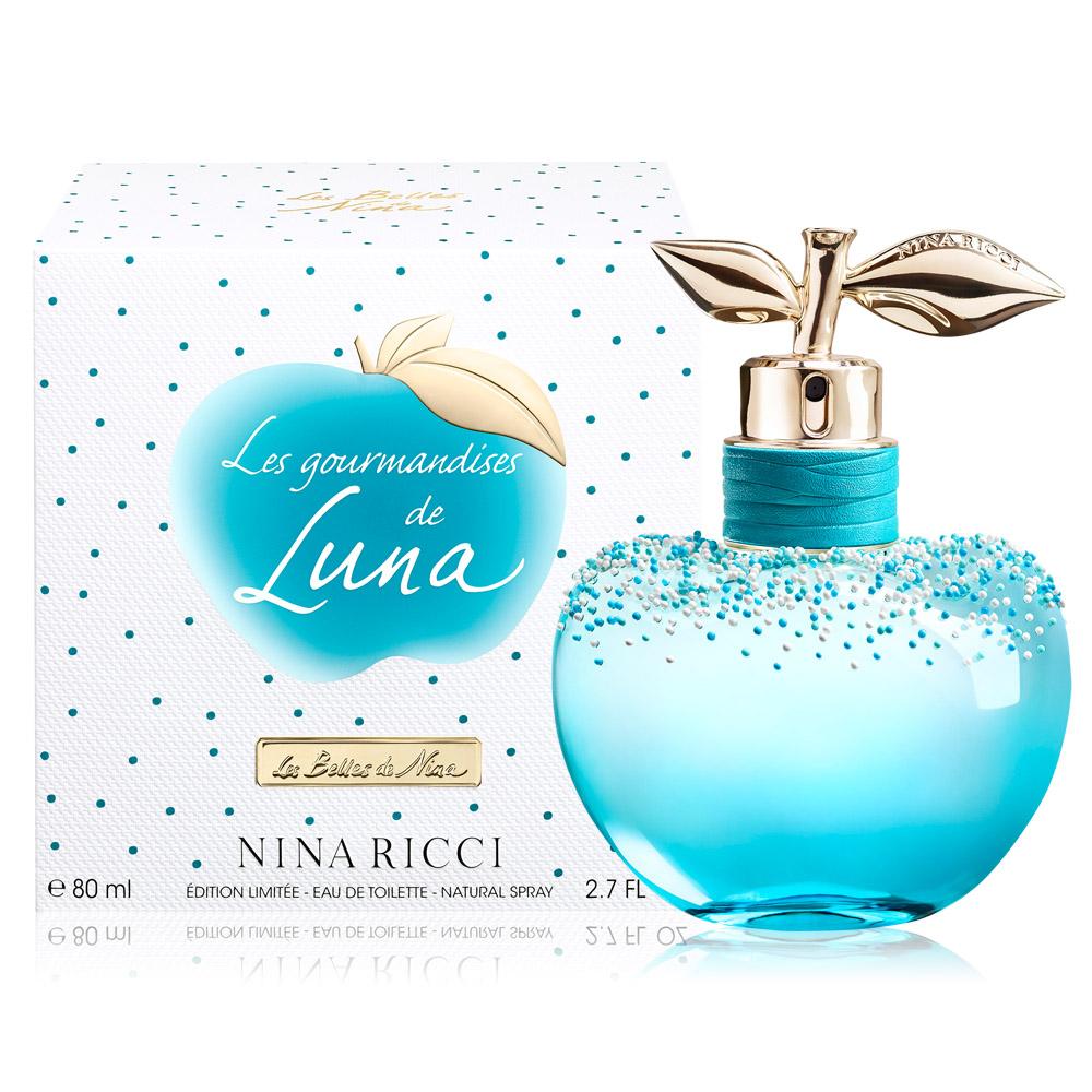 NINA RICCI 露娜繽紛樂女性淡香水80ml-加贈隨機小香