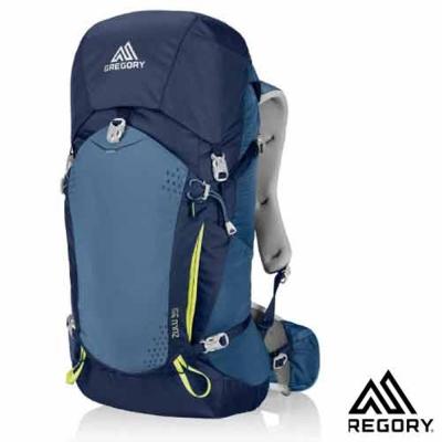 【美國 GREGORY】Zulu 35 網架式健行登山背包(M號)_海藍