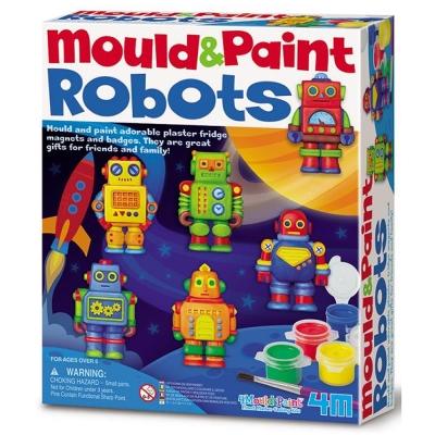 4M美勞創作 機器人大集合 (磁鐵系列)
