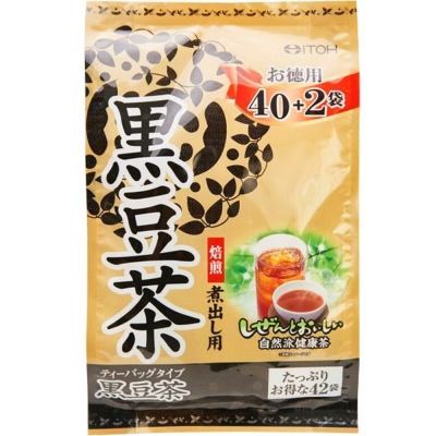 日本ITOH德用 黑豆綜合茶6入(5g*42袋/入)