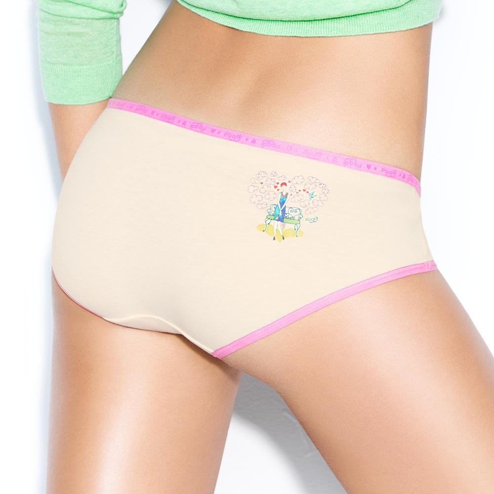 sloggi-TiAmo愛的進行式系列 平口內褲M-EL(米色)