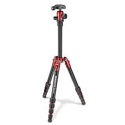 Manfrotto Element 鋁合金小型腳架-紅色(MKELES5RD-BH)