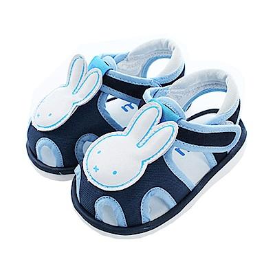 米飛兔魔鬼貼寶寶嗶嗶鞋 藍 sk0455 魔法Baby
