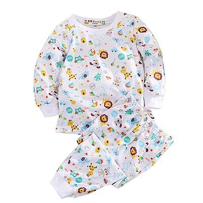動物印花薄長袖居家套裝  k50633 魔法Baby