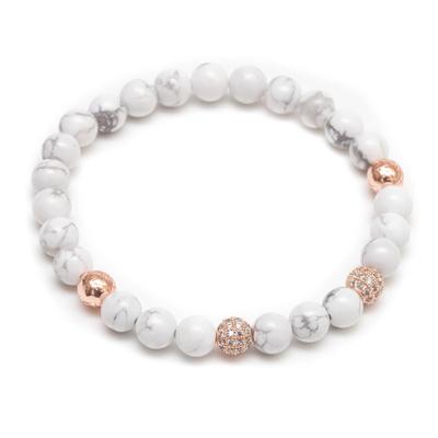 ZENGER  經典時尚串珠系列-雙白玫瑰