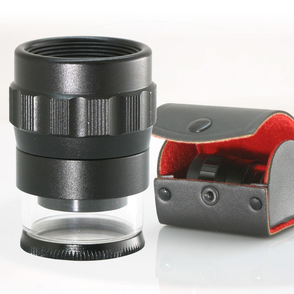 15倍多刻度測量可調焦專業型放大鏡