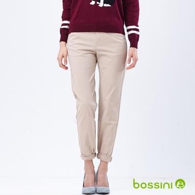 bossini女裝-彈性卡其褲04淺卡其