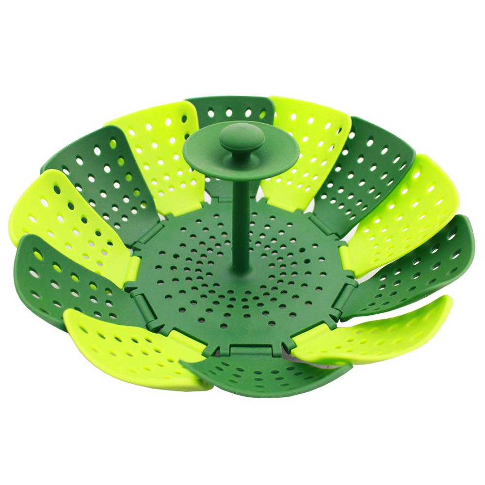 PUSH!餐具穿山甲折疊蒸籠蒸盤易清洗衛生無菌食品級矽膠 product image 1