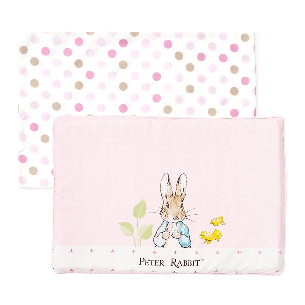 奇哥 花園比得兔乳膠枕-粉紅 (附枕套)