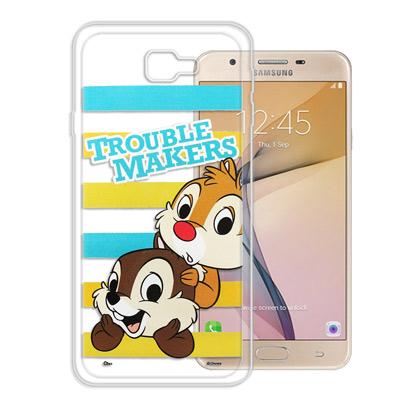 迪士尼授權正版 Samsung Galaxy J7 Prime大頭招呼手機殼(奇...