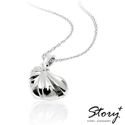 STORY故事銀飾-海克力斯之結-心型純銀項鍊