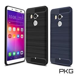 PKG  HTC U11-PLUS抗震防摔手機殼-碳纖維紋系列