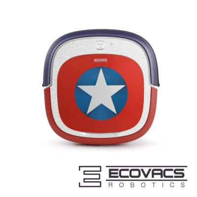 ECOVACS 美國隊長漫威限定版清潔機器人