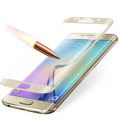 YANGYI揚邑 Samsung S6 edge Plus 滿版3D防爆防刮9H...