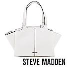 STEVE MADDEN-BRYDEL-素面蝙蝠包(內附小袋)-白色