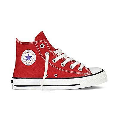 CONVERSE-中童鞋3J232C-紅