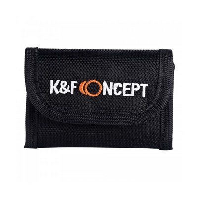 K&F Concept 多功能折疊相機記憶卡/電池/3C配件收納包