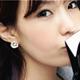 【N.C21】三色金屬質感耳環組 (混合色)