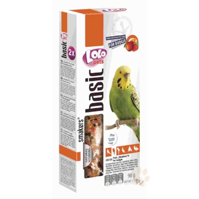 LoLo 小型鸚鵡棒棒糖(水果)90g 2入